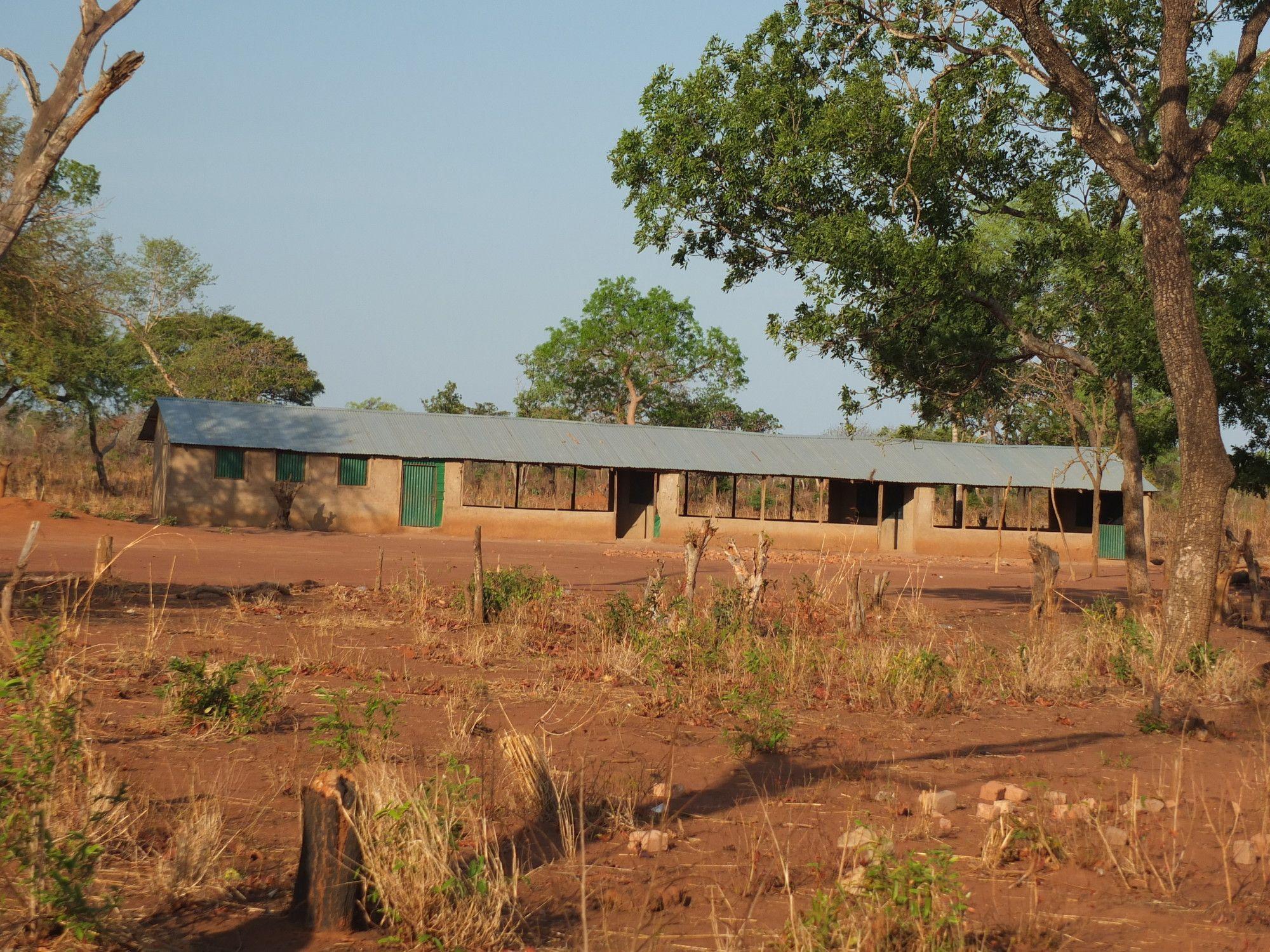 Centro de desplazados de Kadula