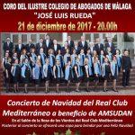 Concierto pro Amsudan en Club Mediterráneo Málaga, 21-12-2017